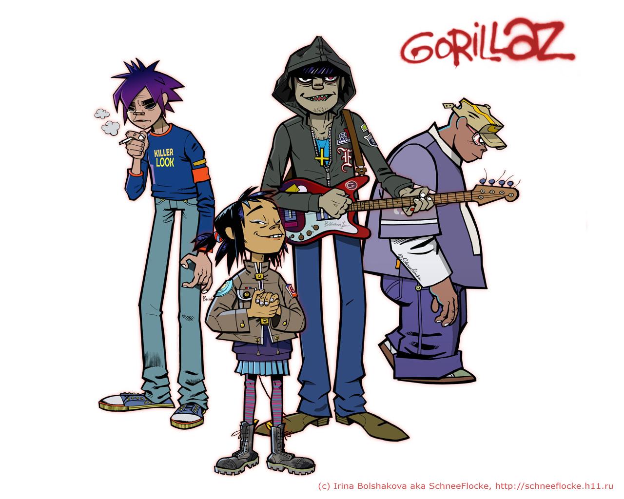 Gorillaz (1280x1024)